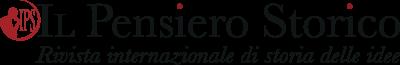 Il Pensiero Storico. Rivista internazionale di storia delle idee Logo